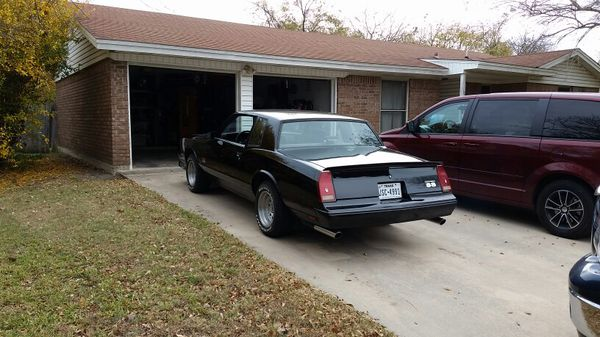 87 Monte Carlo SS For Sale In Harker Heights TX