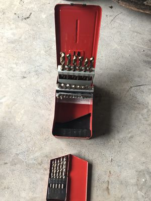 Mac Tool and snap on Allen wrench and drill bit sets for Sale in Columbus, OH