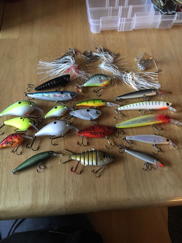 9b85d73dba672 Bass fishing lures for Sale in Long Beach