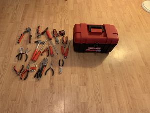 Craftsman tool box complete w tools for Sale in BRECKNRDG HLS, MO