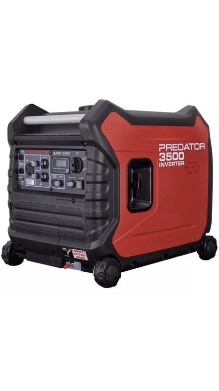 Predator 3500 watt Inverter generator for Sale in Houston, TX - OfferUp