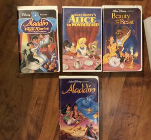 Disney and other VHS Classic Movies !!! for Sale in Houston, TX