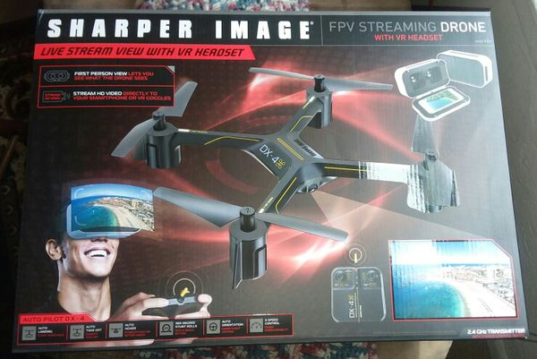 7000 Sharper Image Fpv Streaming Drone With Vr Headset For Sale In