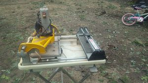 Wet Saw machine for tile $150 for Sale in Raleigh, NC