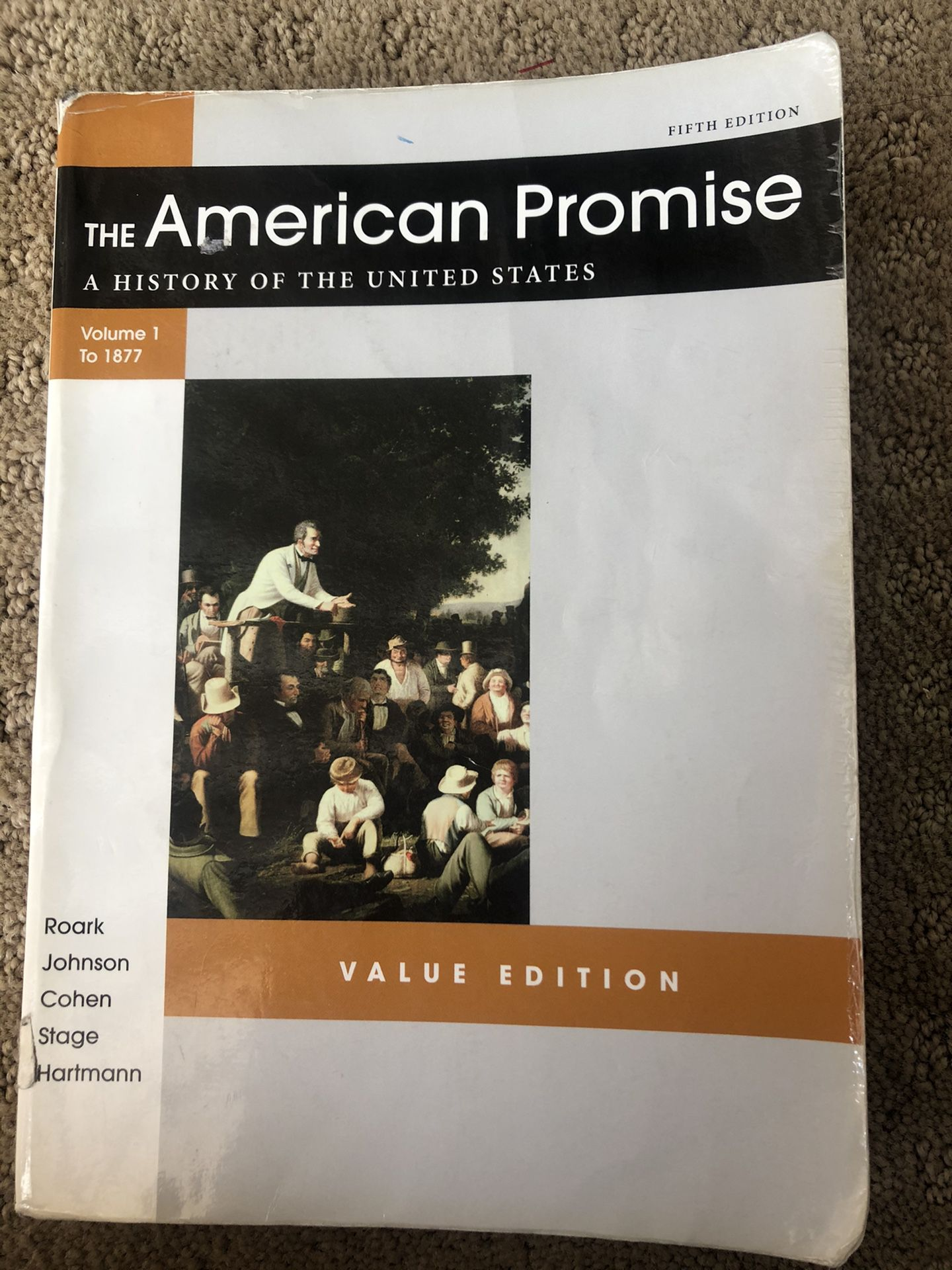 The American promise volume 1