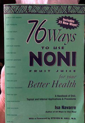 76 Ways to Use Noni for Sale in Dallas, TX