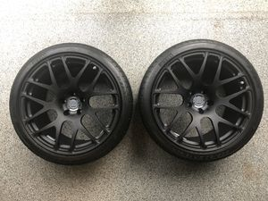 "19"" HRE P40SC Staggered Rims & Pirelli Zero Corsa Tire Set for Sale in Herndon, VA"