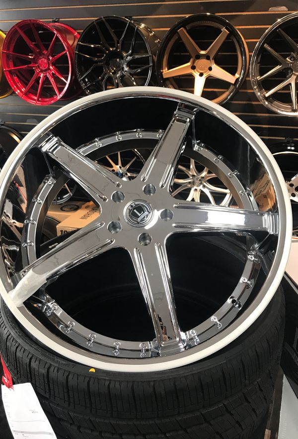 24 Rims For Sale Tire Package Deal Available With Mount Balance
