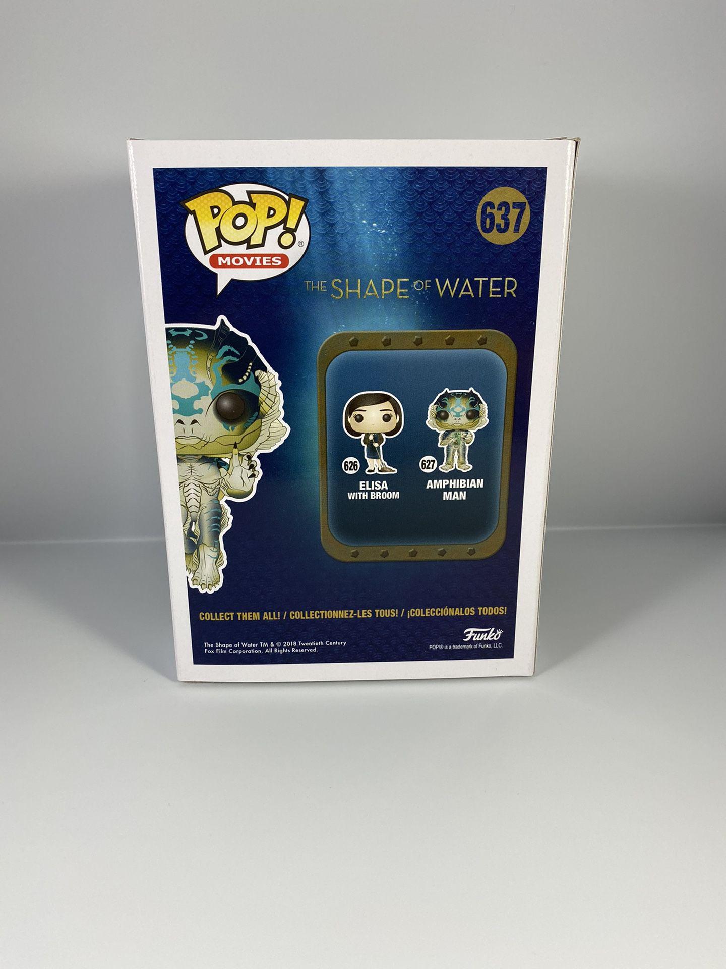 Funko Pop! The Shape of Water - Amphibian Man #637