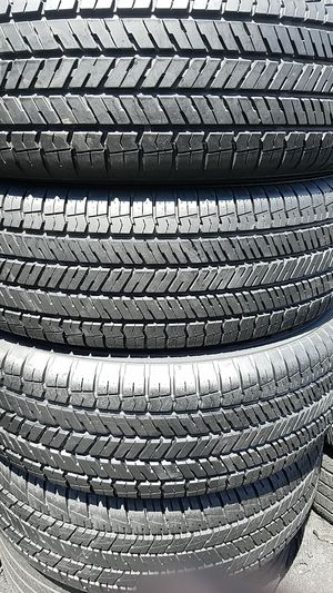 4 set of Yokohama tires for sale 225/65/17 for Sale in Washington, DC