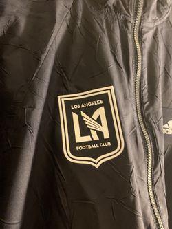 Adidas Los Angeles Football Club Wind Breaker Jacket Retail $120 Thumbnail