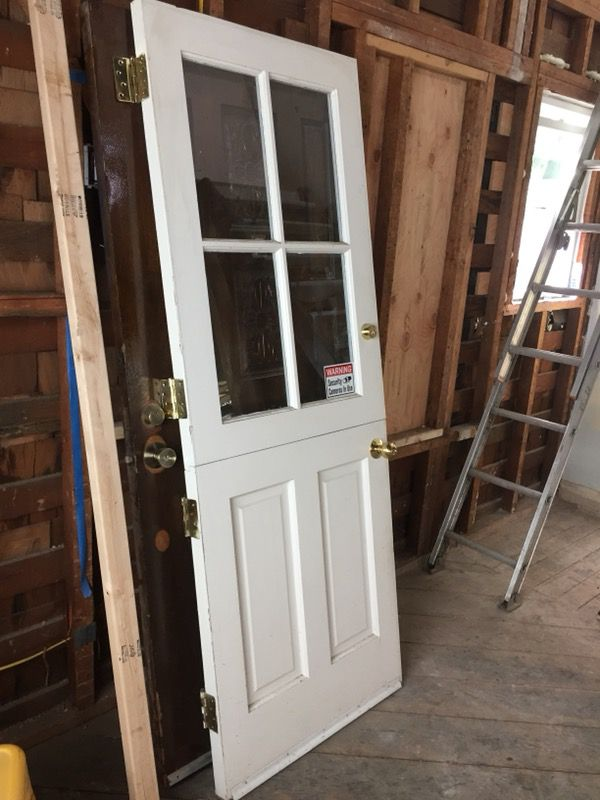 Solid Wood Dutch Door