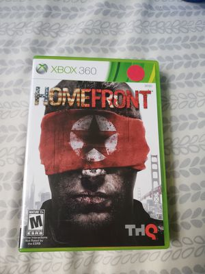 Homefront xbox 360 for Sale in Westminster, MD
