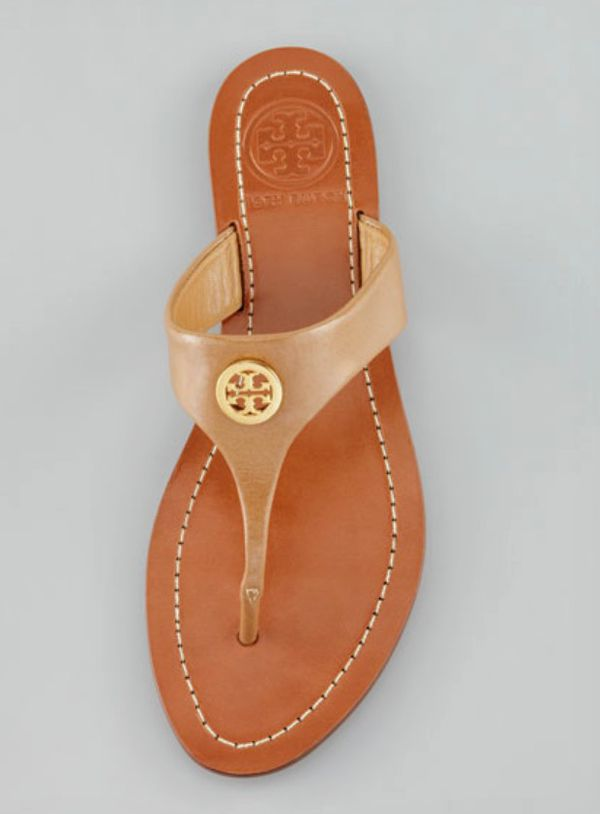 7427f82fe30 Tory Burch Cameron Logo thong Sandals for Sale in San Diego