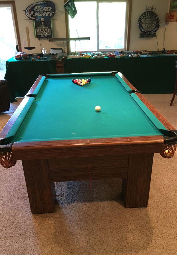 Custom Made Pool Table By Delmo Billiards For Sale In Tacoma WA - Delmo pool table