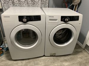 Samsung washing machine and dryer machine (washer and dryer) for Sale in Silver Spring, MD