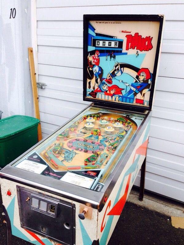 Rare Williams Paddock Pinball Machine