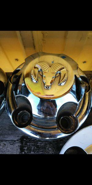 4 Dodge ram 1500 5 lug oem factory center caps part number #52038267 for Sale in Lakeland, FL
