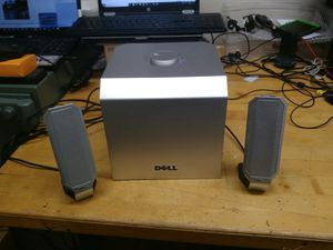 CLEARANCE - $29.99 - Dell Multi Media Speakers w subwoofer for Sale in Spring Valley, CA