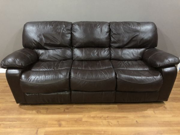 Peachy Brown Leather Recliner Couch For Sale In Baton Rouge La Offerup Gmtry Best Dining Table And Chair Ideas Images Gmtryco