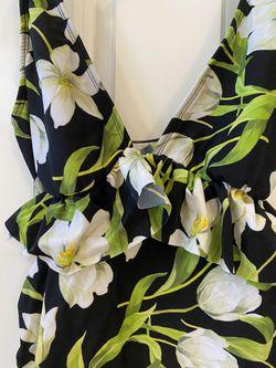 Floral Bathing Suit Top Thumbnail