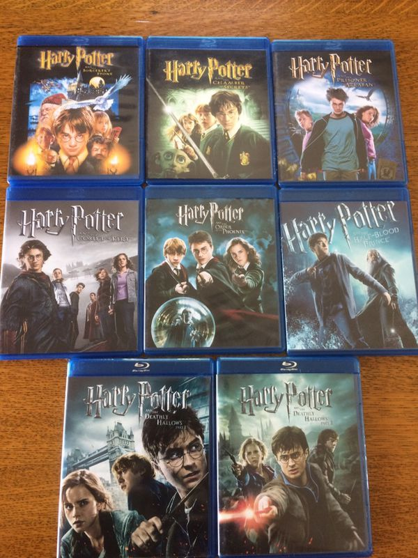 Disney Marvel Harry Potter Movies Bluray And Dvd Collectibles