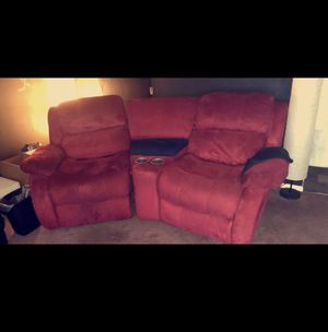 Prime New And Used Reclining Couch For Sale In Akron Oh Offerup Customarchery Wood Chair Design Ideas Customarcherynet