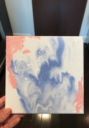 Blue & Pink Dream Painting 8x8 for Sale in Columbus, OH