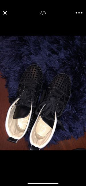 Authentic Louboutin sneakers size 9 women for Sale in Alexandria, VA