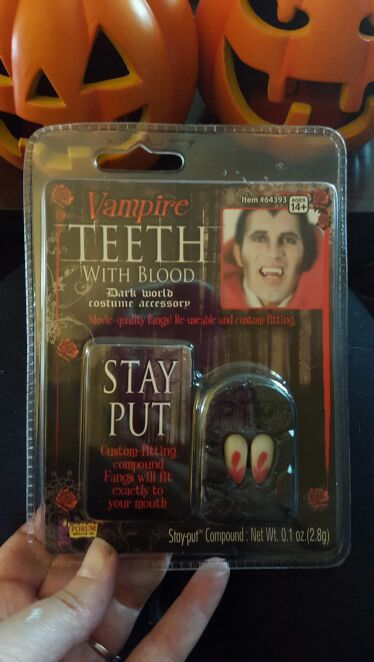 Real looking vampire teeth! With fake blood  for Sale in Bound Brook, NJ -  OfferUp