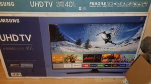 "Samsung 40"" uhd with box, manual, and remote for Sale in Philadelphia, PA"