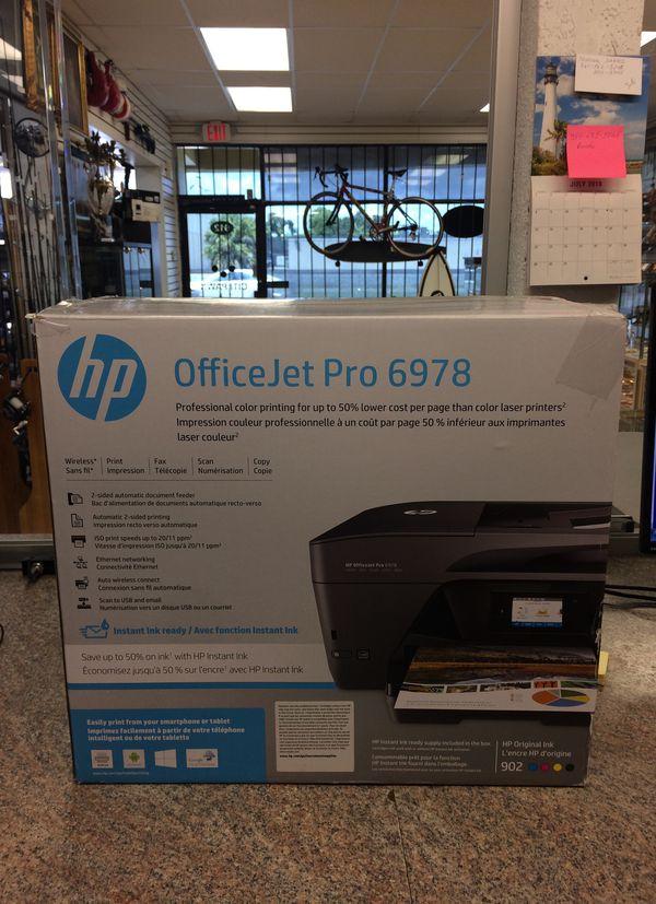 Hp officejet pro 6978 w/inks installed for Sale in Boca Raton, FL - OfferUp