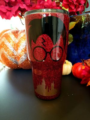 Custom Glitter Harry Potter tumbler for Sale in Fort Worth, TX