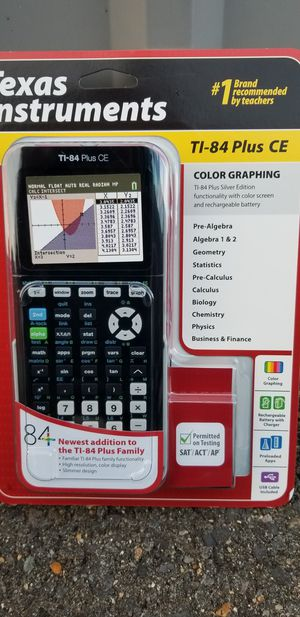Ti-84 plus ce for Sale in Chantilly, VA
