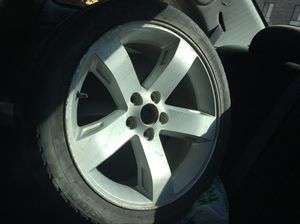 2 18inch rims (Just need to be cleaned and some curve damage for Sale in Oakton, VA