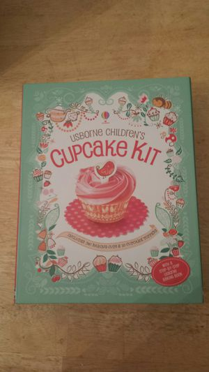 Children's cupcake kit w/step-by-step USBORNE Baking Book for Sale in Alexandria, VA