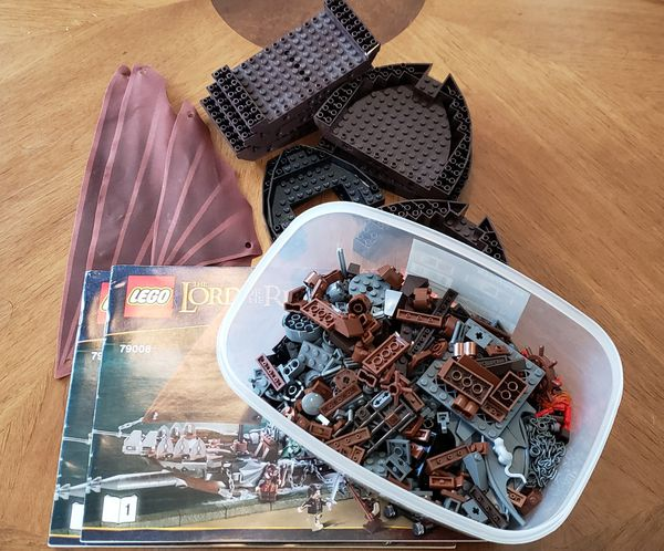 Lego 79008 Lord Of The Rings Pirate Ship Ambush For Sale In Gervais