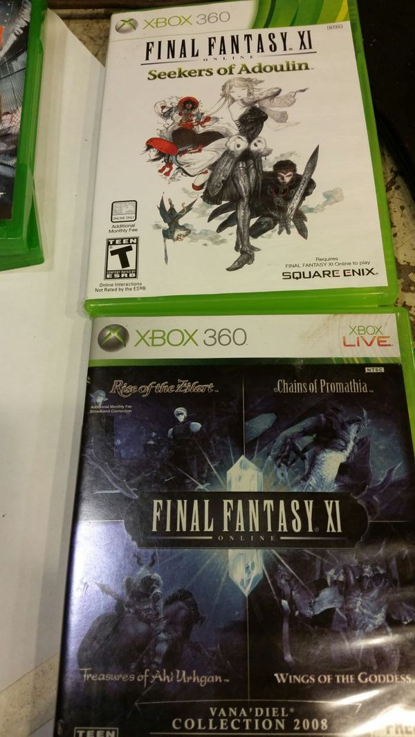Final Fantasy XI plus FFXI Online Expansion Pack for Sale in Saint Paul, MN  - OfferUp