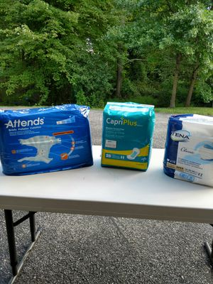 Adult Pampers for Sale in Fort Washington, MD