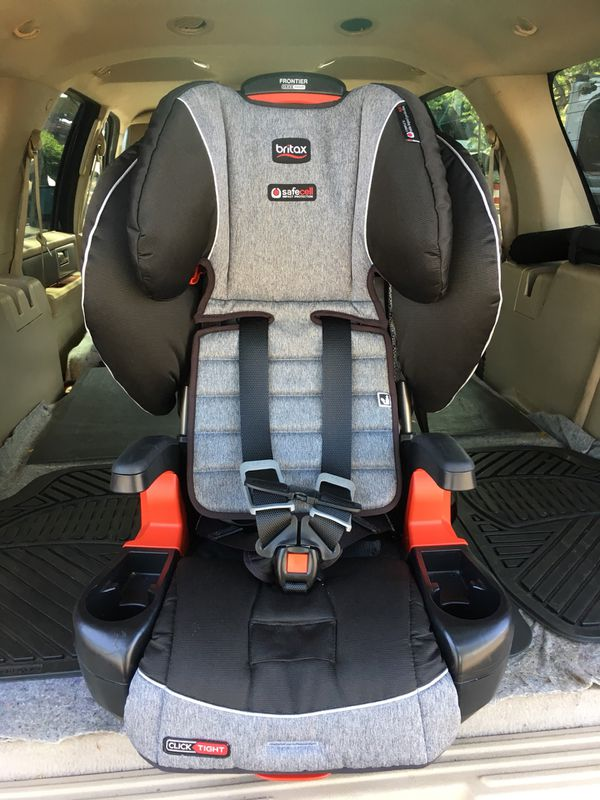 Britax Click Harness To Booster Car Seat Like New