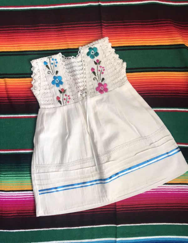78389169c87ee Mexican dress hand embroidered for Sale in Fontana