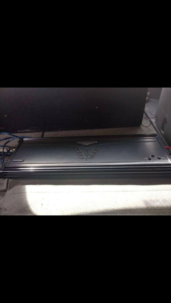 Kicker zx2500 1 amplifier for Sale in Oklahoma City, OK - OfferUp