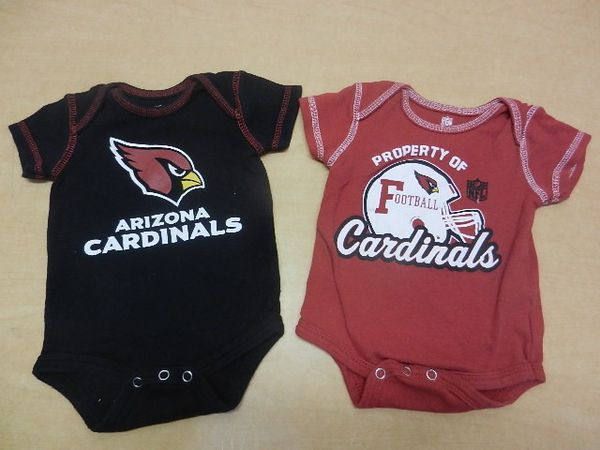reputable site c2367 fef60 2 Arizona Cardinals Baby Creeper Onsie Outfits for Sale in Phoenix, AZ -  OfferUp