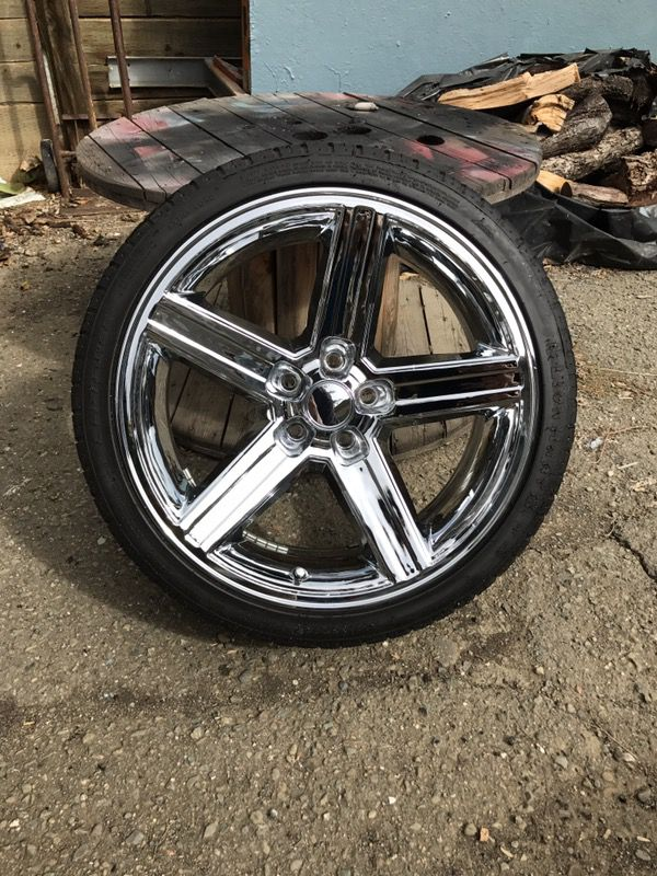 Iroc rims. 20 inch. 5 lug 4 3/4. Will fit old school car or new. for ...