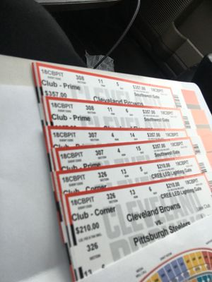 2 tickets left for Sale in Cleveland, OH