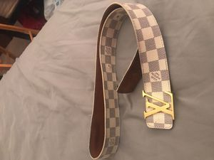 Men's Louis Vuitton belt for Sale in Alexandria, VA