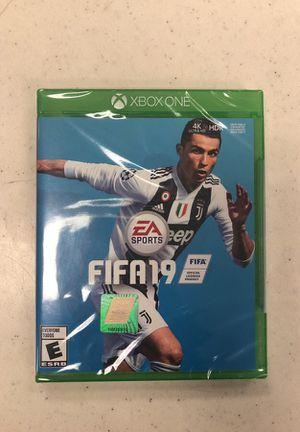 FIFA 19 ( x-box one) for Sale in Seattle, WA