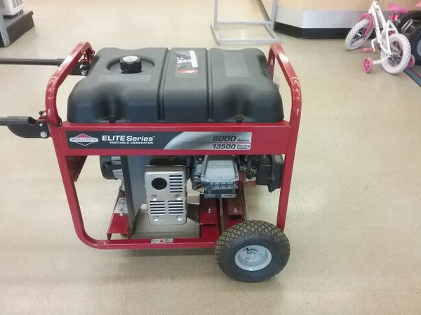 Elegant Briggs and Stratton Generator 8000 Watt 13500