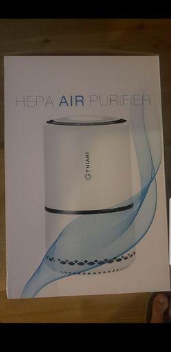Air purifier with advanced air filter Thumbnail