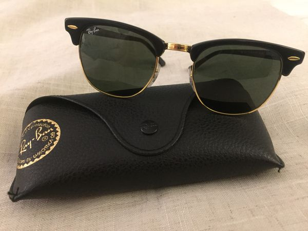 7baee9f977f51 Rayban Clubmaster Sunglasses w Case for Sale in Anaheim